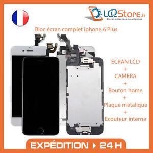 Bloc écran complet iPhone 6 Plus Vitre tactile LCD + Caméra frontale bouton home