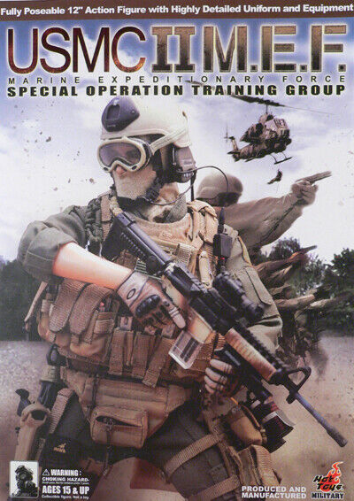 USMC II MARINE EXPEDITIONARY FORCE Special Operation Training Group hot toys