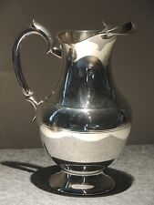 """Très beau pichet broc pichet a eau en métal argenté  """" FRANCOIS FRIONNET"""""""