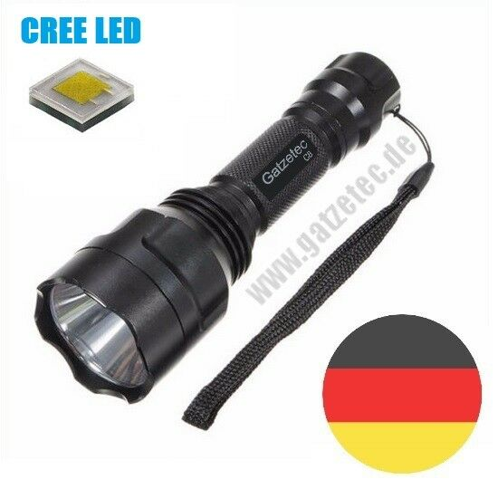 Gatzetec UF C8 CREE XP-L XP-L XP-L HI V3 LED Taschenlampe optional Set   ultrafire 2019 8706d3