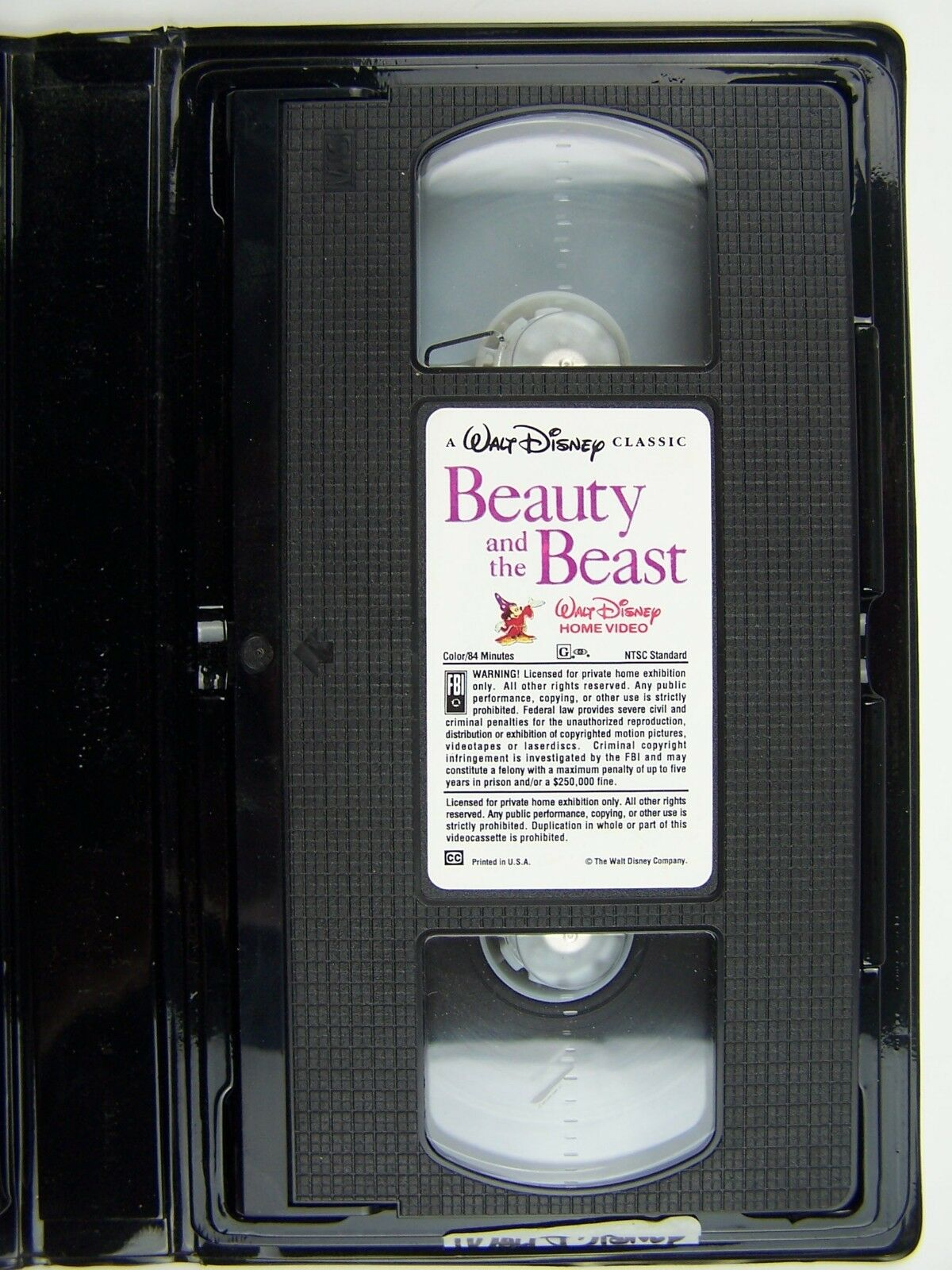 Walt Disney Classic Beauty and the Beast Black Diamond