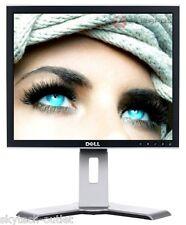 Cheap 17 inch Monitor DELL UltraSharp  LCD TFT Screen USB DVI for Office, CCTV B
