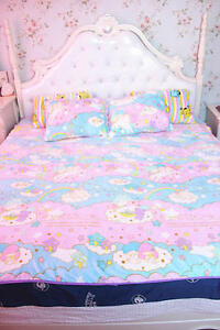 Image Is Loading Sanrio Little Twin Stars Soft Flannel Blanket Bed