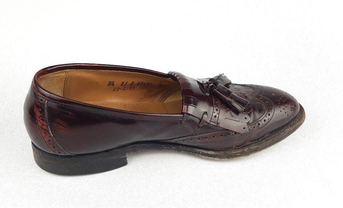 979e7c061185 ... Mens Johnston   Murphy Optima Optima Optima Brown Wingtip Tassle  Loafers Dress Shoes Size 8.5 3964cf ...