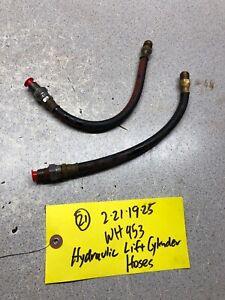 Wheel-Horse-953-1054-Hydraulic-lift-cylinder-hoses