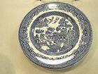 "Churchill Blue Willow Dinner Plates 10-1/4"" Set of 10"