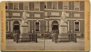 State House Philadelphia Foto James Gremer Stereo Vintage Albumina