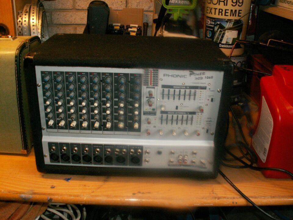 power mixer, PHONIC