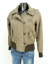 PEPE JEANS WINTER JACKE GR M / BRAUN & WINTERWARM - TRENDY    ( M 0948 R )