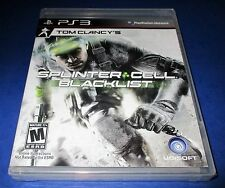 Tom Clancy's Splinter Cell: Blacklist -Upper Echelon Edition PS3 New! Free Ship!