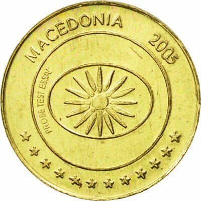63 #434494 2005 Essai 10 Cents Ms Medal Macedonia Brass To Enjoy High Reputation In The International Market