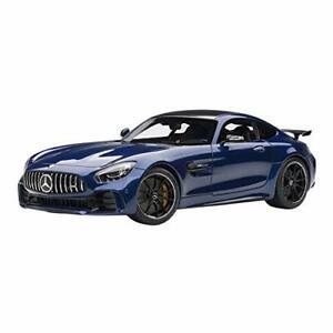 AUTOart 1/18 MERCEDES AMG GT R AMG bleu métallisé 76334 EMS avec suivi NEUF
