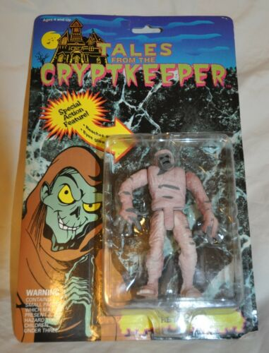 MOC Crypt Action Figure 1990 The Mummy Tales From the Cryptkeeper