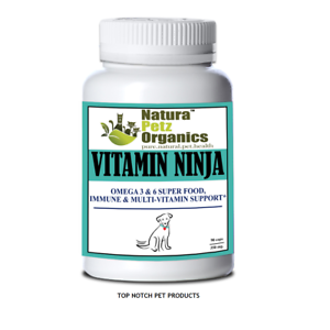 Natura-Petz-VIT-NINJA-3-amp-6-SUPER-FOOD-IMMUNE-amp-MULTI-VIT-All-Stages-90-Caps