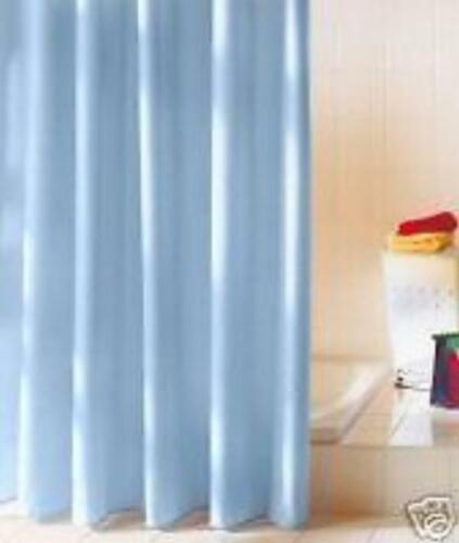 Duschvorhang hellblau Textil 120x200 cm Versandfrei Vorhang für Dusche