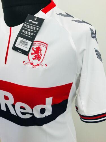 Middlesbrough FC Football Shirt Away Soccer Jersey 2019//20   Hummel Medium