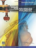 Scales For Advanced Violinists By , (sheet Music), Alfred Music , New, Free Ship on sale