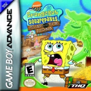SpongeBob: Revenge of the Flying Dutchman - Nintendo Game Boy Advance GBA