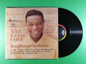 Nat King Cole Unforgettable Lp Ebay