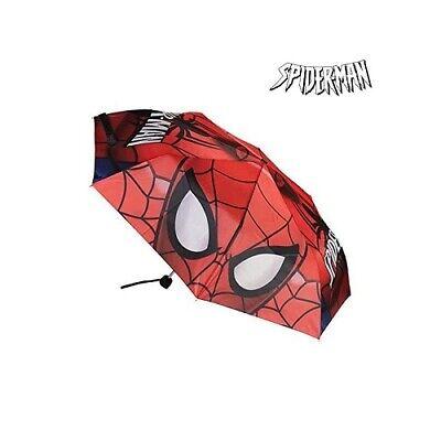 Apprensivo Ombrello Pieghevole Spiderman 18693 (48 Cm) Forte Resistenza Al Calore E All'Usura Dura