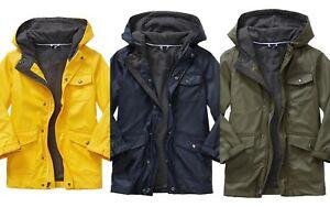 671df58e1 NWT GAP Kid Rain Slicker Raincoat Jacket Coat Jersey Lining Boys M L ...