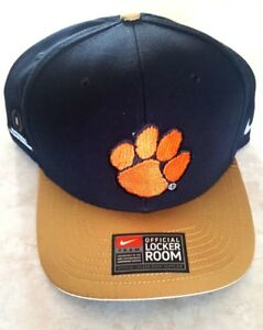 Details About Clemson Tigers Hat Nike Snapback Locker Room 2016 National Champions Cap New