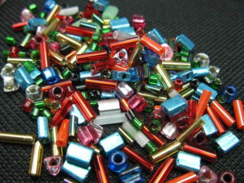 Glasperlen 2-5mm Perlen 8530 Rocailles Mix 25g