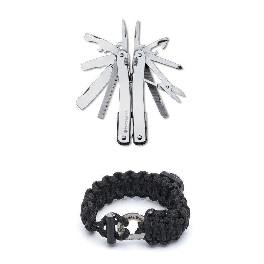 Victorinox Swiss Army Swisstool Spirit with Victorinox Paracord Bracelet   online store