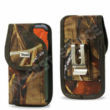 Cover Pouch Holster w/Belt Clip TO fit Reiko Rubber Case FOR Smart Cell Phones