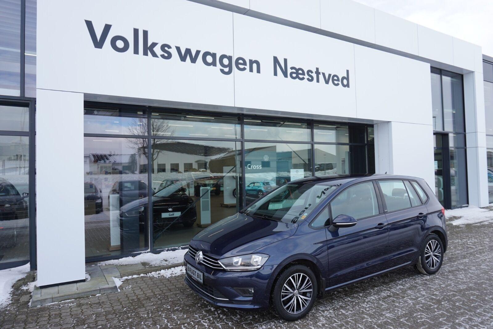 VW Golf Sportsvan 1,4 TSi 125 Allstar DSG BMT 5d - 199.900 kr.