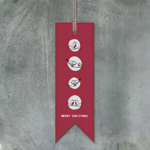 Merry-Christmas-Red-Card-Bookmark-By-East-Of-India-Secret-Santa-Gift-Present