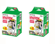 40 Prints Fujifilm Instax Mini Instant Film for 9 8 50s 7s 90 & Pol 300 Camera