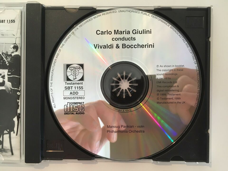 Carlo Maria Giulini : Vivaldi The Four Seasons, klassisk