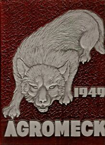 Details About 1949 Agromeck Nc State University Yearbook All Names In Listing