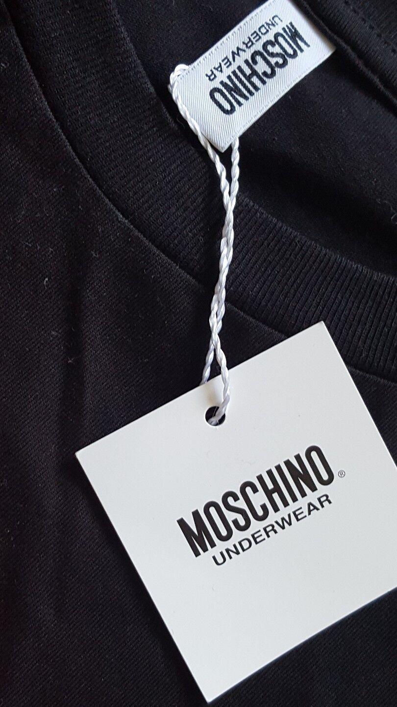 MOSCHINO L 42 Underwear Sport Sport Underwear Shirt schwarz FAT FREE - Neu 6a657d