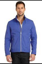 ANDREW MARC CAMDEN RAIN JACKET BLUE XL NEW ORIGINALLY $175