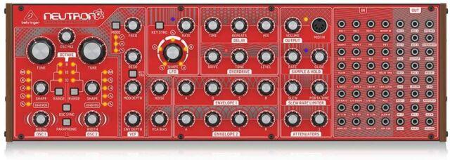 Mischpult Neutron Synthesizer Soundmodul DJ Equipment Recording Musikzubehör