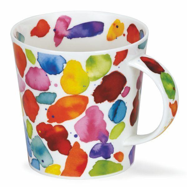 Dunoon Blobs rot 0,48l Teetasse Mug Kaffeebecher Cairngorm
