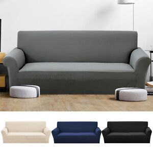 1//2//3 Seater Stretch Sofa Slipcover Protector Soft Couch Covers Washable Modern