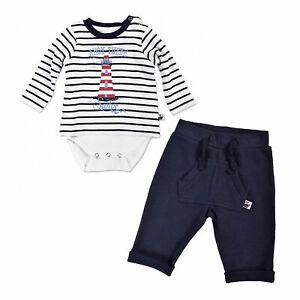 Teiler Set  Shirt Hose Jogging Neu Jungen 56 62 68 blue seven Baby 2