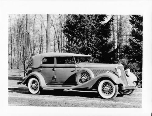 1933 Studebaker President Eight Convertible Sedan Factory Photo Ref. #90940