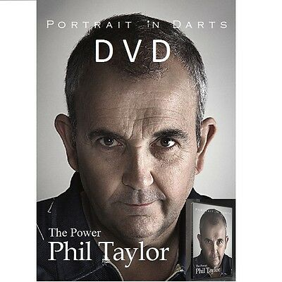 PHIL TAYLOR DVD - A PORTRAIT IN DARTS -  DARTS COACHING DVD BOTH PAL and NTSC
