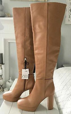 Zara Gold Metallic Ankle Boots UK5 EUR38 US7.5 RRP £59.99