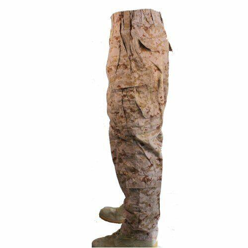 Genuine US Marines USMC Desert Marpat Fatigue Combat Trousers Tactical