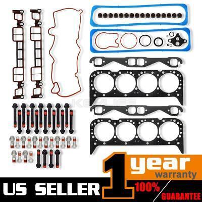 For Chevrolet Suburban GMC Savana Cylinder Head Gasket Bolts kit OE Repl