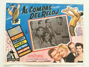 Bill-Haley-Rock-Around-The-Clock-Orig-Mexique-Lobby-Card-1950s-R-039-N-039-R-Rockabilly