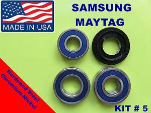 Front Load Washer 3 Tub Bearings And Seal Samsung Kit