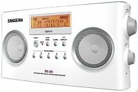 Sangean Pr-d5p Portable Radio With Digital Tuning And Rds , New, Free Shipping