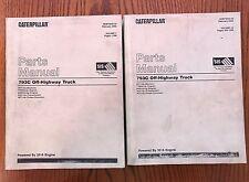 CATERPILLAR Parts Manual 793C Off-Highway Truck SEBP3022 Volume 1 & 2 Rare Set