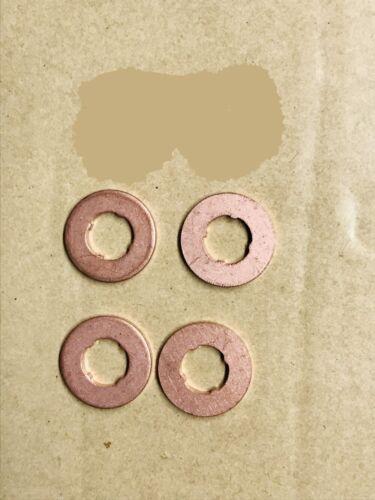 Anillo obturador inyector 4 trozo Bosch f00vc17503 bmw 13 53 2 247 156 Elring 924867